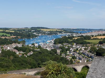 Photo for Spacious Home In Cornwall, Sea Views, Off-street Parking, Sleeps 8, Nr Falmouth