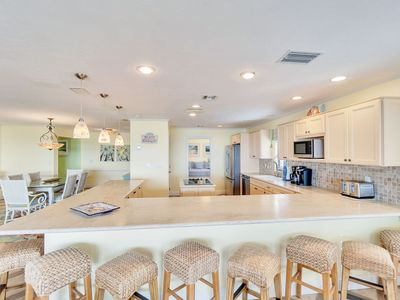 Photo for Stunning Huge Gulf front condo on west end!
