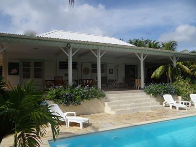 Photo for Le Diamant: Large Creole villa in an exotic floral garden