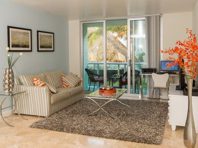 Photo for Cozy and Luxuriously Appointed Oceanfront Condo steps from Beach
