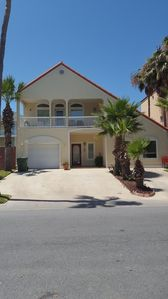 SPI house with short walk to beach 3/3/1 garage with heated and private pool!