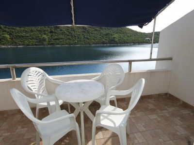 Photo for One bedroom apartment near beach Pasadur, Lastovo (A-8386-a)