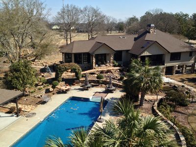 Photo for Golf Tourn Week Rental - 4/3 Estate w/Heated Pool, Pool Table, Theater + extras