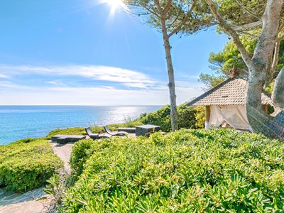 Photo for Villa Balinea / Exceptional villa on the 1st seafront line