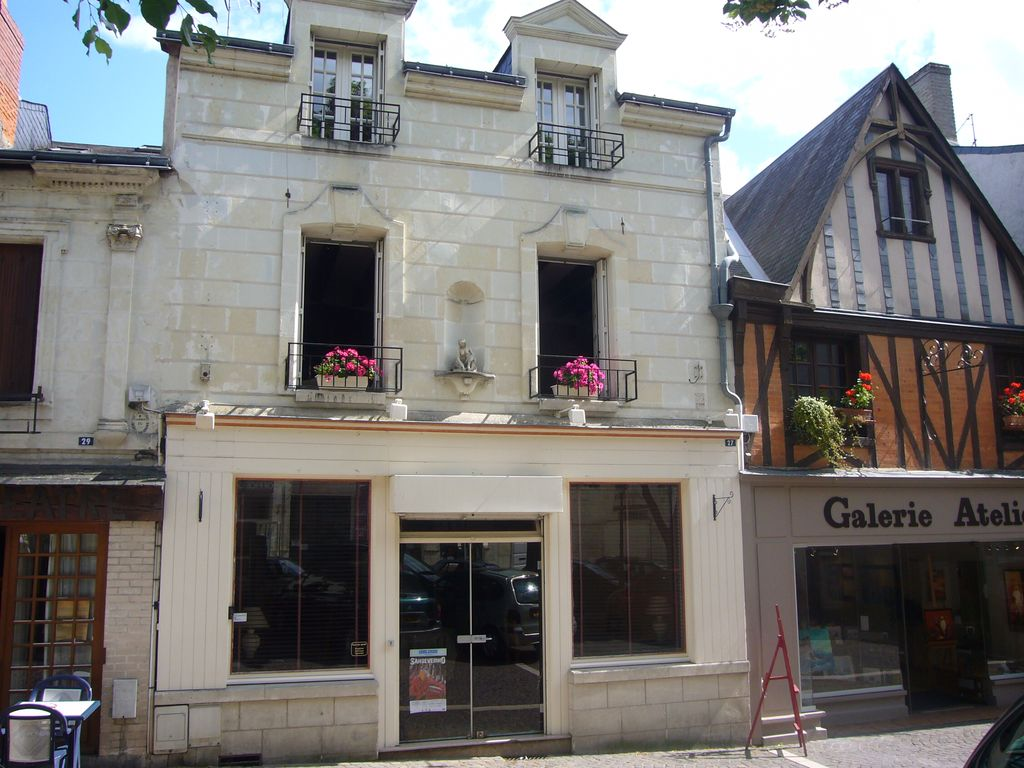 mansion in the heart of the medieval old town of Chinon