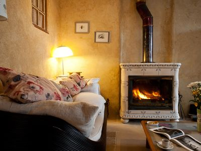 Photo for Warm cottage, 4 * lime / wood / stone, near Semur