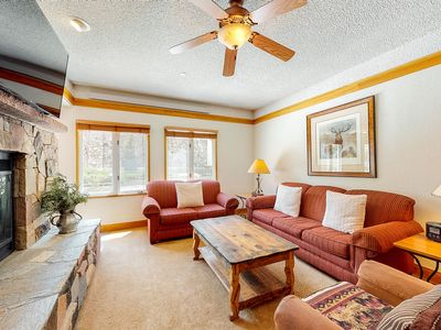 Photo for Ground floor, ski-in/ski-out condo w/ WiFi, fireplace, shared pool and hot tubs!