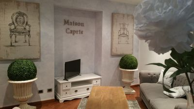 Photo for Maison Capris is an elegant apartment with historic and noble charm.