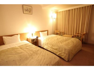 Photo for Smoking  Twin room  Feel free to stay without  / Oshu Iwate