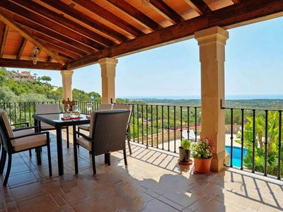 Photo for 3 bedroom Villa, sleeps 6 in s'Horta with Air Con and WiFi