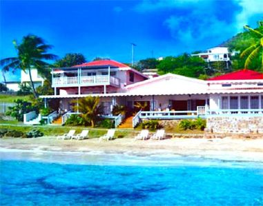 Photo for Bequia Beachfront Villa - 4 Bedroom - Bequia