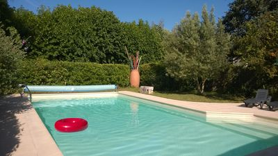 Photo for CAMPAIGN IN CITY. Heated private pool. On the edge of Charente in Saintes.
