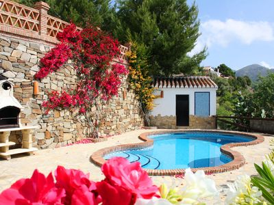 Photo for Finca Almencino with private pool for 6 people, fantastic sea views