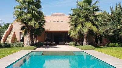 Photo for Luxurious villa in a magnificent private property 3km from the center of the Medina