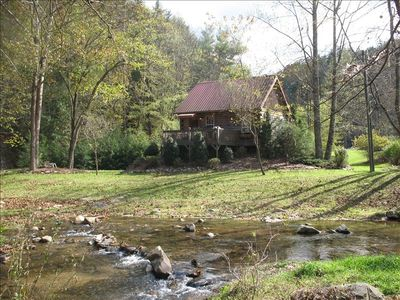 There is 1/2 mile of rushing trout stream on this property.