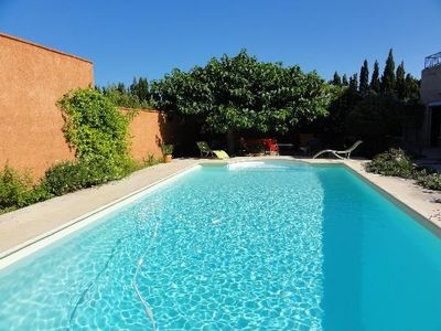 Photo for BETWEEN SEA AND MOUNTAINS PRETTY TRADITIONAL GITE 6 PERS GARDEN LARGE PRIVATE SWIMMING POOL TERRAIN ...