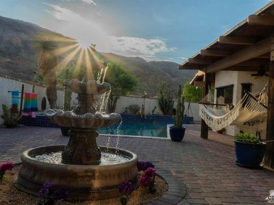 Photo for Spanish Desert Home, private with mountain views.