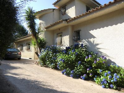 Photo for In Porto Vecchio, Marina di Fiori, air-conditioned villa 8 people, private pool