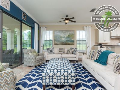 Photo for Fairway Joy | 5 Bedroom Pool Home with Extended Pool Deck and Conservation Views