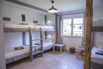 Outstanding Cozy Dorm Room In B B Villa With Pool Sleeps 6 Adults With Private Bathroom Capbreton Download Free Architecture Designs Rallybritishbridgeorg