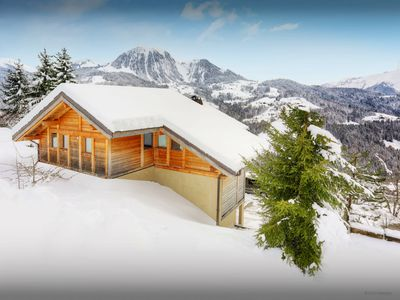 Photo for Spacious 4* ski chalet for 11 - hot tub, games room, views - OVO Network