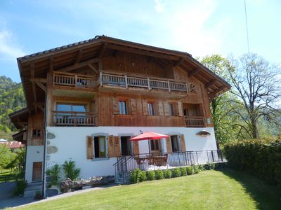 Photo for rental apartment between taninges and Samoens