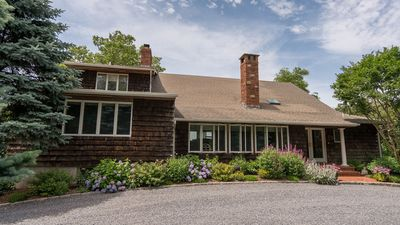 Photo for New Listing: Exceptional Bayfront Beauty in Sag Harbor Featuring Peconic Views & Secluded Beach