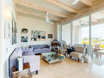 Photo for Luminous home w/ bay views, beach club access, private rooftop, & charcoal grill