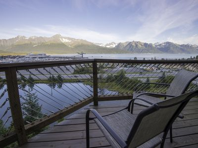 Photo for Cliff Top Townhouse!  Panoramic views of Resurrection Bay!