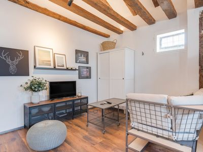 Photo for Cozy Loft in Fuencarral 5min to Chueca metro