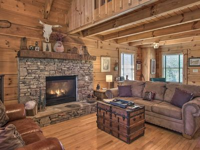 Photo for Pigeon Forge Cabin w/ Hot Tub - 3 miles to Pkwy!