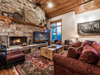 Photo for Home at the Cove,Deck wi/ Ski Slope Views,Hot Tub, Sleeps 15!