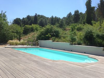 Photo for Air-conditioned decorated house in Pernes with pool and greenery