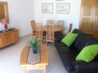 Photo for Family Friendly, Swimming pool , 150 metres from water front, quiet and central
