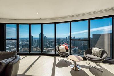 Sit back and relax as you gaze at the beautiful city of Melbourne.