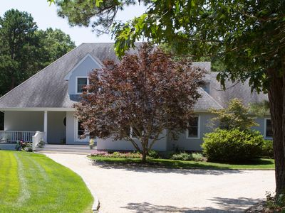 Photo for Westhampton Getaway with Heated Pool and Tennis Court
