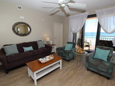 Photo for Seachase 404E- Beach Front Views from Terrace and Luxurious Interior!