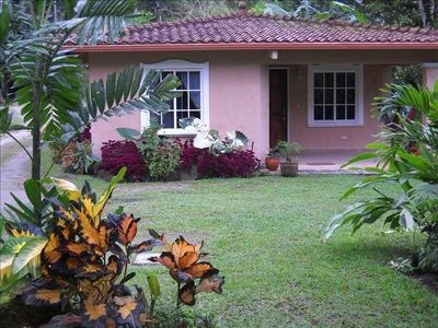Our casita is comfortable and has all the amenities of home
