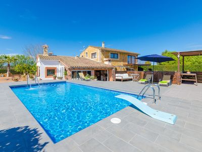 Photo for ES RAFAL NOSTRO - Villa with private pool in FELANITX.
