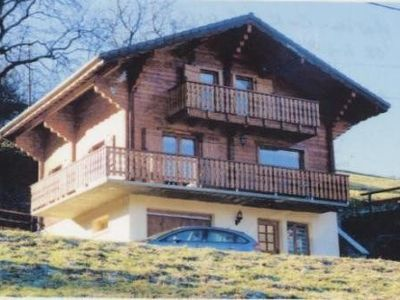 Photo for MORILLON CHALET **** SUPERB VIEW