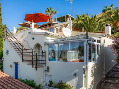 Photo for Fully-equipped Holiday Home Casa Caracol with Seaview, Terraces, Air Conditioning & Wi-Fi; Pets Allowed upon Request