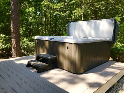 Photo for Enjoy the fall on Cape Cod! 100% renovated, luxury home with new 7p hot tub!!! 🍁