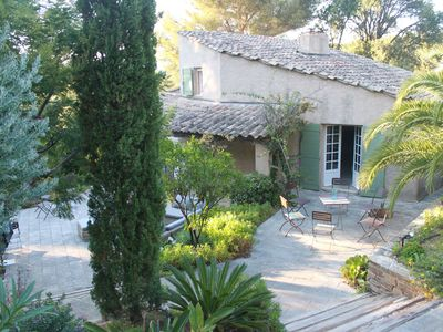 Photo for South-facing villa on the seaside, in the private domain of the Cap Bénat