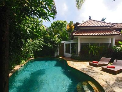 Photo for VILLA OF CHARM WITH SUPERB VIEW ON RICE RICE IN CANGGU / BALI