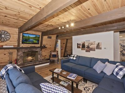 Big Bear Family Hangout: Close to Bear Mtn! DirecTV! Internet! Charcoal BBQ! Foosball! Laundry!