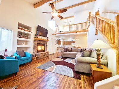 Photo for NEW! Stone Pine Hideaway - Pinetop Townhome Backing National Forest!
