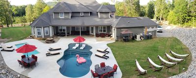 Photo for Luxury 10 Acre Estate with 2 Private Heated Pools