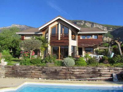 Photo for Villa with Pool in the heart of the Alps