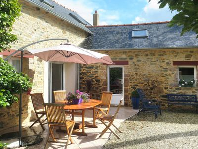 Photo for Vacation home Ferienhaus (POX101) in Pontrieux - 4 persons, 2 bedrooms