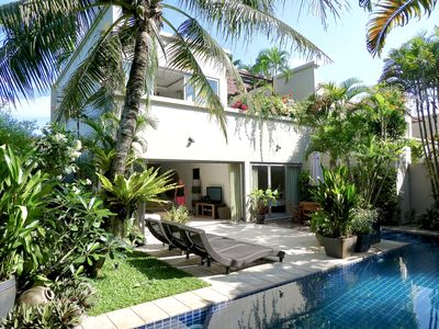 Photo for Award winning luxury  pool villa set close to the beach in tropical gardens